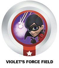Disney Infinity Series 3 Power Disc Violets Force Field Incredibles *** Details can be found by clicking on the image.