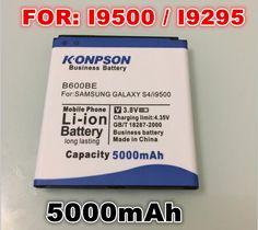 Goedkope nieuwkomers b600bc 5000 mah batterij voor samsung galaxy s4 batterij i9505 i9502 i9508 i959 i9500 batterij i959 r970 i9295 g7106, koop Kwaliteit GSM Batterij rechtstreeks van Leveranciers van China: Dit merk batterij werken alleen met originele telefoon,Dezelfde grootte in de originele batterij,Uw bestelling zal worde