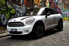 Spotted: MINI Paceman prowling Melbourne's backstreets. See more design from down under on MINI Space.