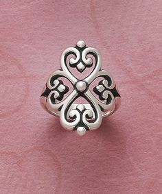 Adorned Hearts Ring #jamesavery beautiful push present