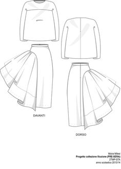 Drawn fashion technical sheet - pin to your gallery. Explore what was found for the drawn fashion technical sheet Fashion Flats, Diy Fashion, Trendy Fashion, Fashion Design Drawings, Fashion Sketches, Drawing Fashion, Flat Sketches, Fashion Dictionary, Fashion Vocabulary