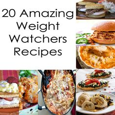 20 Amazing Weight Watchers Recipes