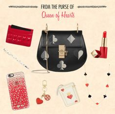 What would the Queen of Hearts have in her purse? Find out at Disney Style!
