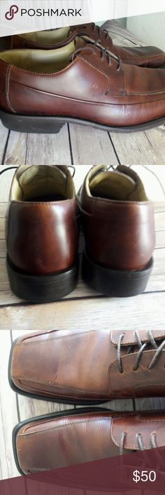 Kenneth Cole New York Men's Brown Leather Lace Up The shoes are in excellent condition. please feel free to ask any questions you may have. Thank you so much for stopping by :). Kenneth Cole Shoes Oxfords & Derbys