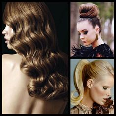 Chic look hairstyle pinned with Pinvolve