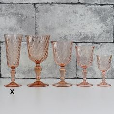 Bonjour,  This is set of six nice fluted champagne from Cristal dArques France Rosaline ( pattern discontinued )  Stamped FRANCE on the bottom  They are all in excellent vintage condition, .  The listing is for 6 glasses ( photo#5). - EXPLORE -  Find more vintage items with Rosaline pattern: https://www.etsy.com/shop/ohlalacamille?ref=hdr_shop_menu&search_query=rosaline  Return to Ohlalacamilles bar area: https://www.etsy.com/shop/ohlalacamille?ref=hdr_shop_menu&section_id=14173588  Return…