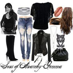 """Sons of Anarchy-Gemma"" by xmelissathomasx on Polyvore"