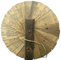 Ancient Indian manuscript  出典: oldroze  #manuscript #Indian #Ancient