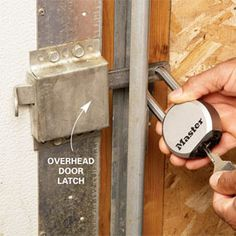 Home Theft Protection: Secure Your Garage. Great tips, especially for vacations
