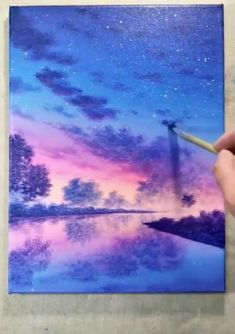 Art Painting Tools, Canvas Painting Tutorials, Easy Canvas Painting, Diy Canvas Art, Acrylic Painting For Beginners, Painting Techniques, Jellyfish Painting, Jellyfish Drawing, Watercolor Jellyfish