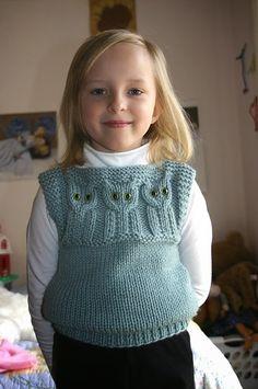 Resultado de imagem para trico colete infantil