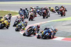La carrera de Moto2 en Montmeló en imágenes   Motociclismo.es