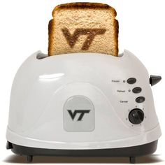 Va Tech - Virginia Polytechnic Institute & State University  - brand your bread with this toaster