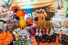 Os Flinstones Como Tema De Aniversário | Din Din Presentes
