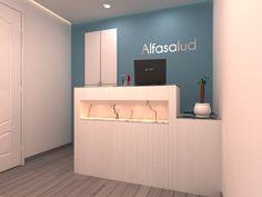 Imágenes de lo último que he hecho, una reforma para convertir una vivienda en una clínica de fisioterapia. Aquí lo dejo. Un saludo!        ...