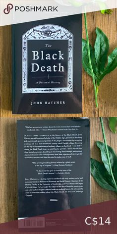 Book 📚 The Black Death by John Hatcher Horror plague novel non-fiction Book Other The Unexpected Everything, Before Trilogy, Wicked Book, Feelings Book, The 5th Wave, Book City, Five Love Languages, Sailor Moon Manga, Black Death