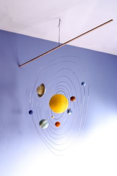 Love solar system models, but will never use styrofoam! Just occurred to me - could use wooden balls or *WOOL FELT* balls??