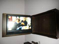 Flat TV Schn Versteckt Im Schrank Schwenkbar Bilder Zimmer Hotel Elbresidenz An Der Therme
