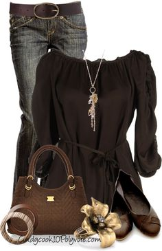 """Miss Sixty Blouse"" by cindycook10 ❤ liked on Polyvore"