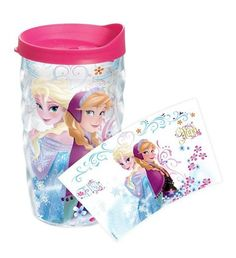 Disney Frozen Anna & Elsa 10 Oz. Tumbler with Lid