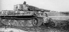 Tiger I Ausf. E East Prussia, 1945