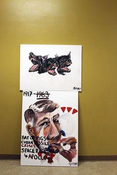 via panda head blog   A CREATIVE DC: SLIDE B ART SHOW