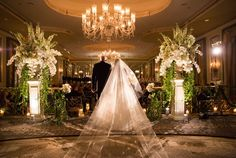 Father Walks Daughter Down the NYC Aisle    Photography: Ira Lippke Studios   Read More:  http://www.insideweddings.com/weddings/opulent-wedding-with-whimsical-luxurious-touches-in-new-york-city/794/