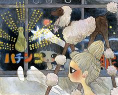 "Aya Takano - ""Bus trip in 2005 Aya Takano, Superflat, Art Drawings Beautiful, Inspirational Artwork, Inspiring Art, Funky Art, Sketchbook Inspiration, Japanese Artists, Asian Art"