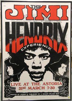 A evolução dos cartazes de shows de rock dos anos 60, 70, 80 e 90. Clique e veja…