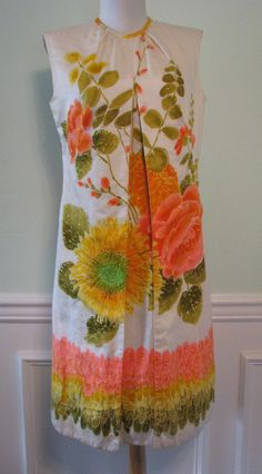 Dress Hawaiian Stan Hicks Mod 1960s 1970s http://www.rubylane.com/item/615897-6751/Dress-Hawaiian-Stan-Hicks-Mod