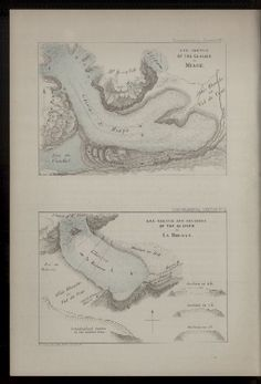 Eye sketch of the glacier of Miage, Rar3333_0012