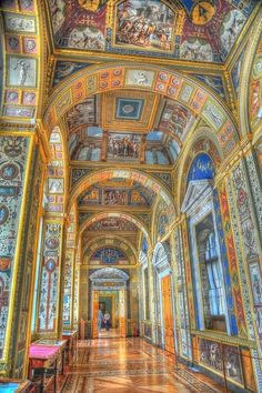 The Hermitage Museum - St Petersburg, Russia. I actually got lost in the lower levels during a school trip to Europe...... Scary!