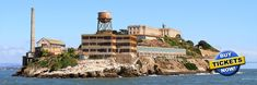 Get tickets now to visit Alcatraz prison. Reserve online and save time. Alcatraz Tours depart hourly from Pier 33 in San Francisco, CA. Alcatraz Tour, San Francisco Alcatraz, San Francisco Pictures, San Francisco Attractions, San Francisco Travel Guide, Tour Tickets, Boat Tours, Twin Peaks, Brazil
