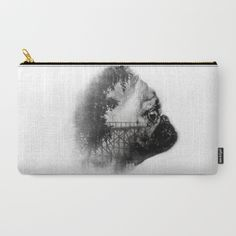 My dog Sookie and the bridge Carry-All Pouch by Avahunt - $18.00