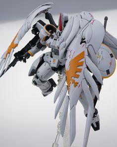 Tallgeese Flugel by sky老白. 2 of Featuring the original Gundam boy band from… Gundam Wing, Gundam Art, Outlaw Star, Gundam Astray, Gundam Wallpapers, Gundam Custom Build, Robot Concept Art, Gunpla Custom, Custom Decals