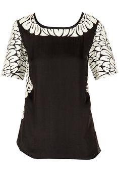 Black thread embroidered top BY PANKAJ AND NIDHI. Shop now at perniaspopupshop.com #perniaspopupshop #clothes #womensfashion #love #indiandesigner #pankajandnidhi #happyshopping #sexy #chic #fabulous #PerniasPopUpShop