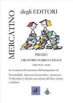 Samuele Editore a Portobuffolé domenica 8 novembre