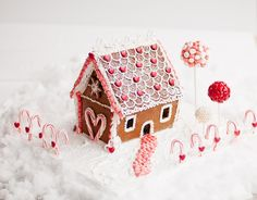This year, make a sweet display with some surprises. 12 Adorable Gingerbread House Ideas