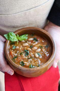 White Bean Tomato Soup 4