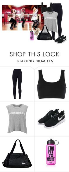 """Dance Class with Matt Steffanina and Dana Alexa"" by chxncenjh on Polyvore featuring NIKE, adidas Originals, Wildfox, Victoria's Secret PINK, Casetify and dance"