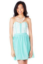 Reims Strapless Dress - think I need this!