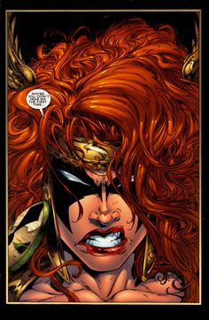 Angela ~ pencils: Greg Capullo, inks: Danny Miki, color: Dan Kemp & Brian Haberlin (Spawn # 99, 2000)