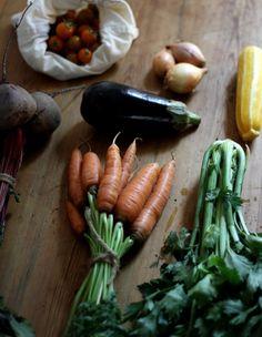 vegetable haul_how to store vegetables_gardenista