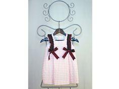 Vestidos ARTESANALES de nuestra firma de moda infantil ÑÁCAR@S a SOLO 29,40€  http://es.dawanda.com/product/85145759-vestido-de-nina-modelo-petra