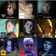 American Horror Story, Horror Stories, Movie Posters, Movies, Fictional Characters, American Horror Stories, Films, Film Poster, Cinema