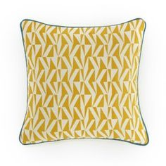 Iyère Printed Cotton Cushion Cover La Redoute Interieurs - Cushion Covers