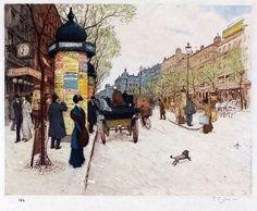 Paris, Tavik Frantisek Simon. Czech (1877-1942)