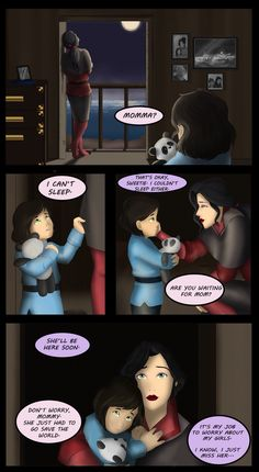 Korrasami family  Korrasami children I almost started crying