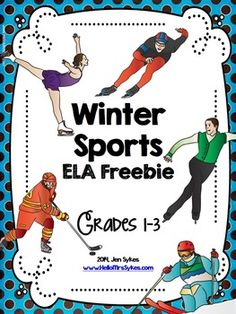 Winter Olympics Free Word WorkThis Includes 3 Activities For Celebrating Sports Historically