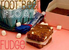 Root beer float fudge.  Wow.